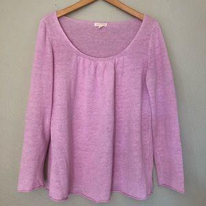 Eileen Fisher Long Sleeves Top Shirt Linen S